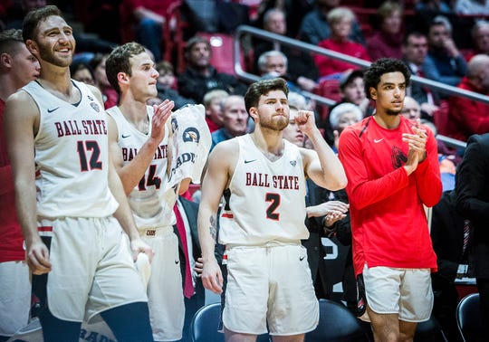 FILE -- Ball State advanced to the MAC quarterfinals with a 61-43 victory over Eastern Michigan on Monday.