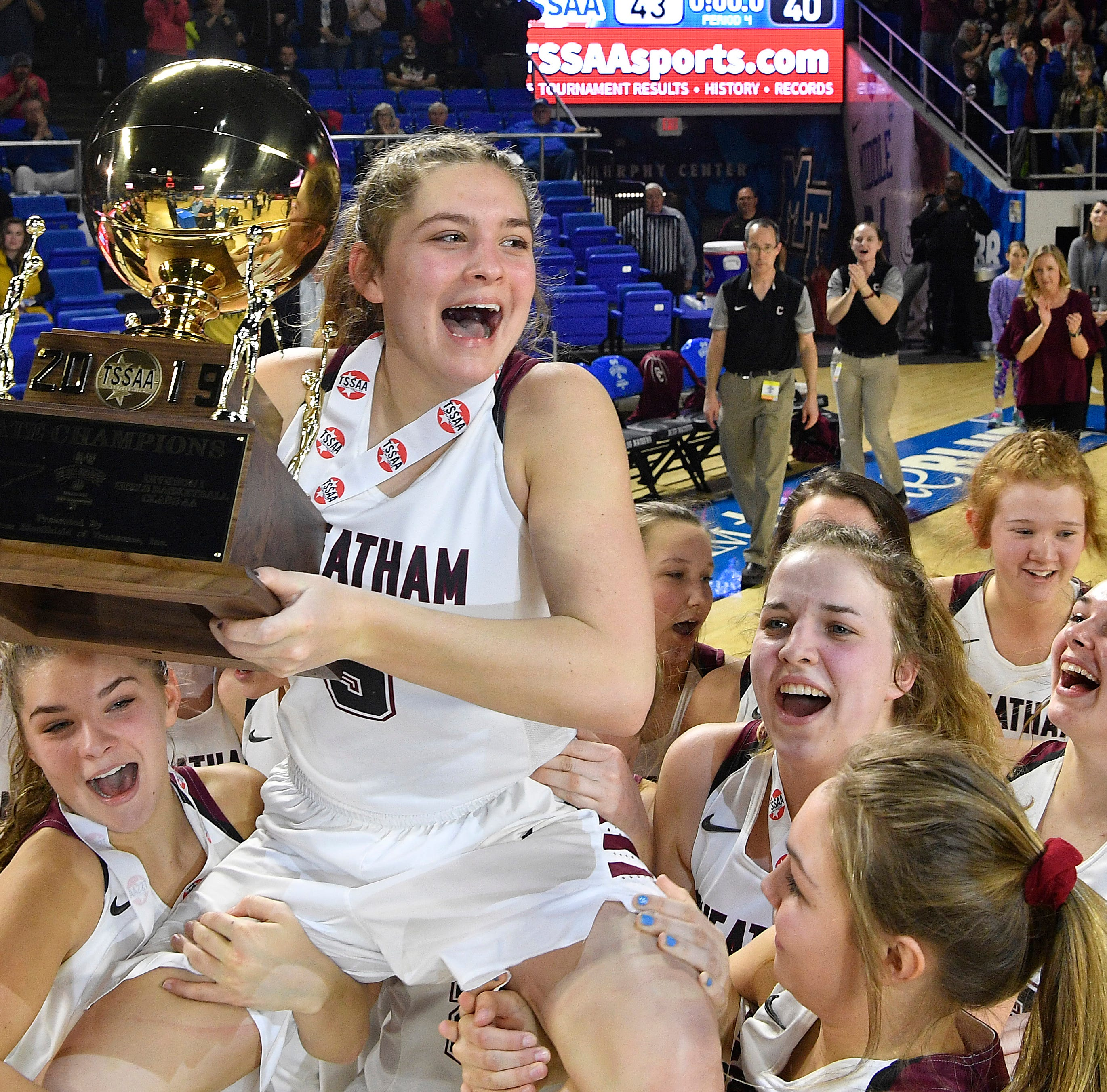 History made! Cheatham County girls win first state championship in school's 49-year history