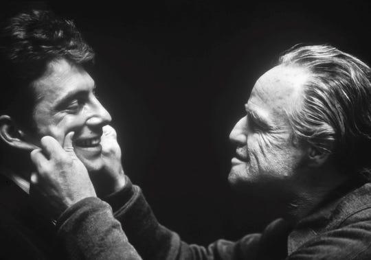 "Gianni Russo, Marlon Brando in ""The Godfather"""