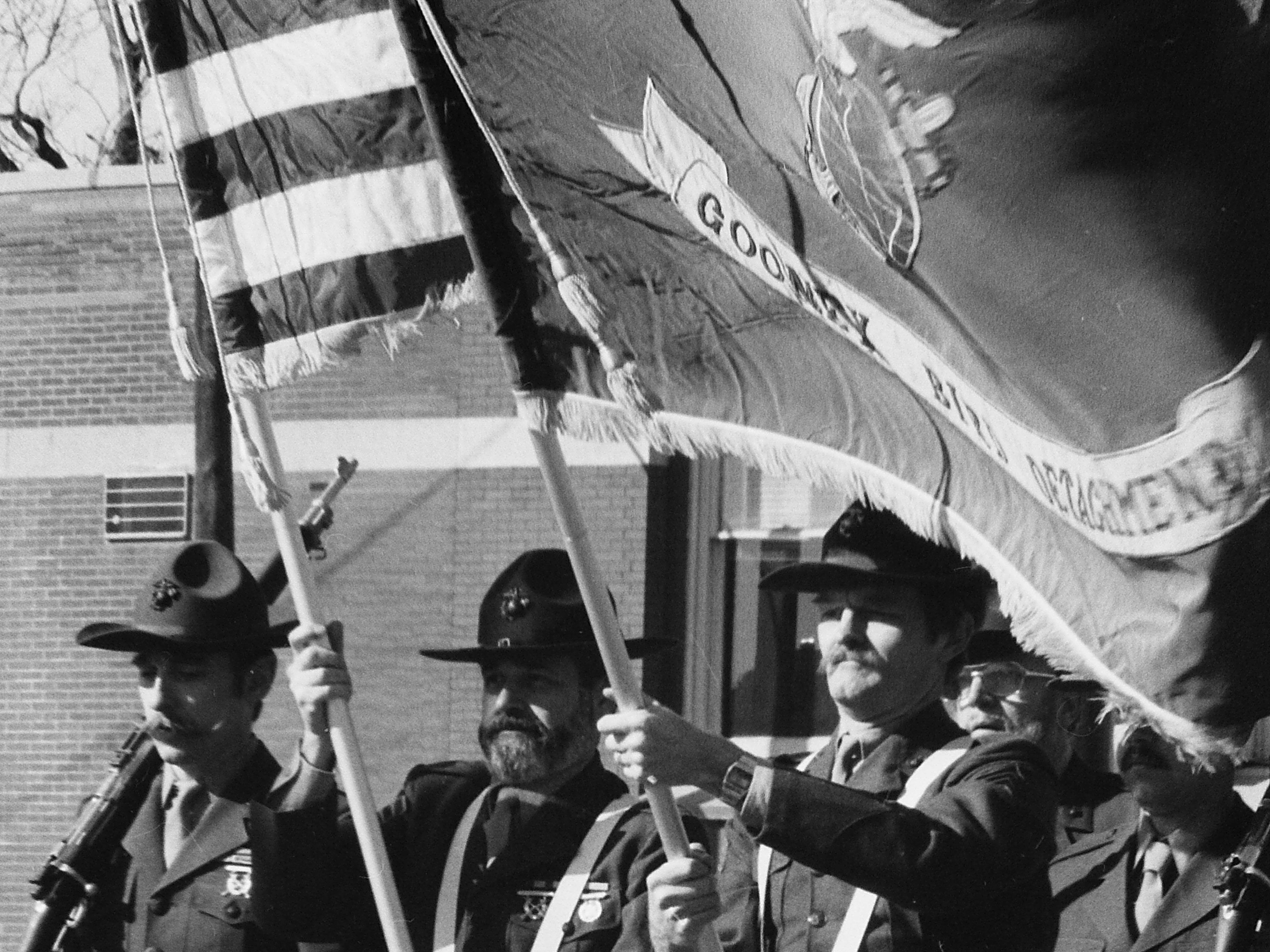 Scenes from the first annual Bergen County St. Patrick's Day Parade in Hackensack, N.J., March 14, 1982.