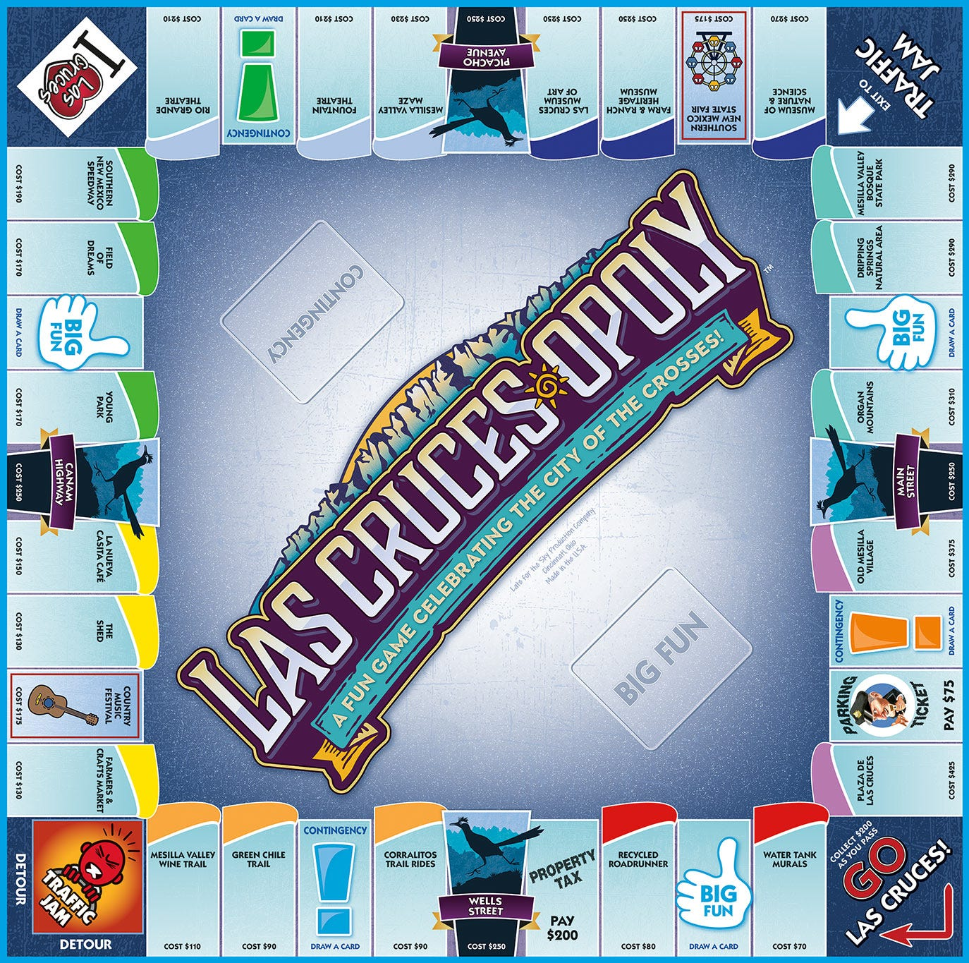 Las Cruces-opoly: The city board game is a success at Walmart