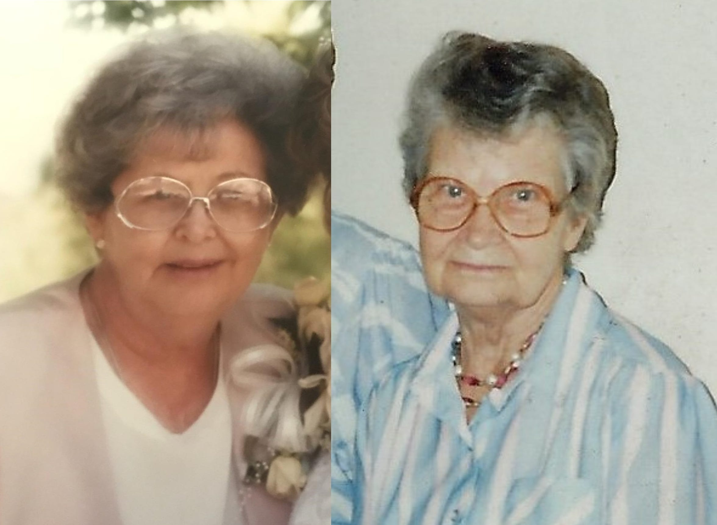 Nelda Brown, left, is believed to be the the oldest child of Annie Louise Holt Fulstone, right. Family believe Brown as a baby was separated from her mother soon after being born in Silver City in the 1930s. Both Brown and Fulstone died in the 1990s.