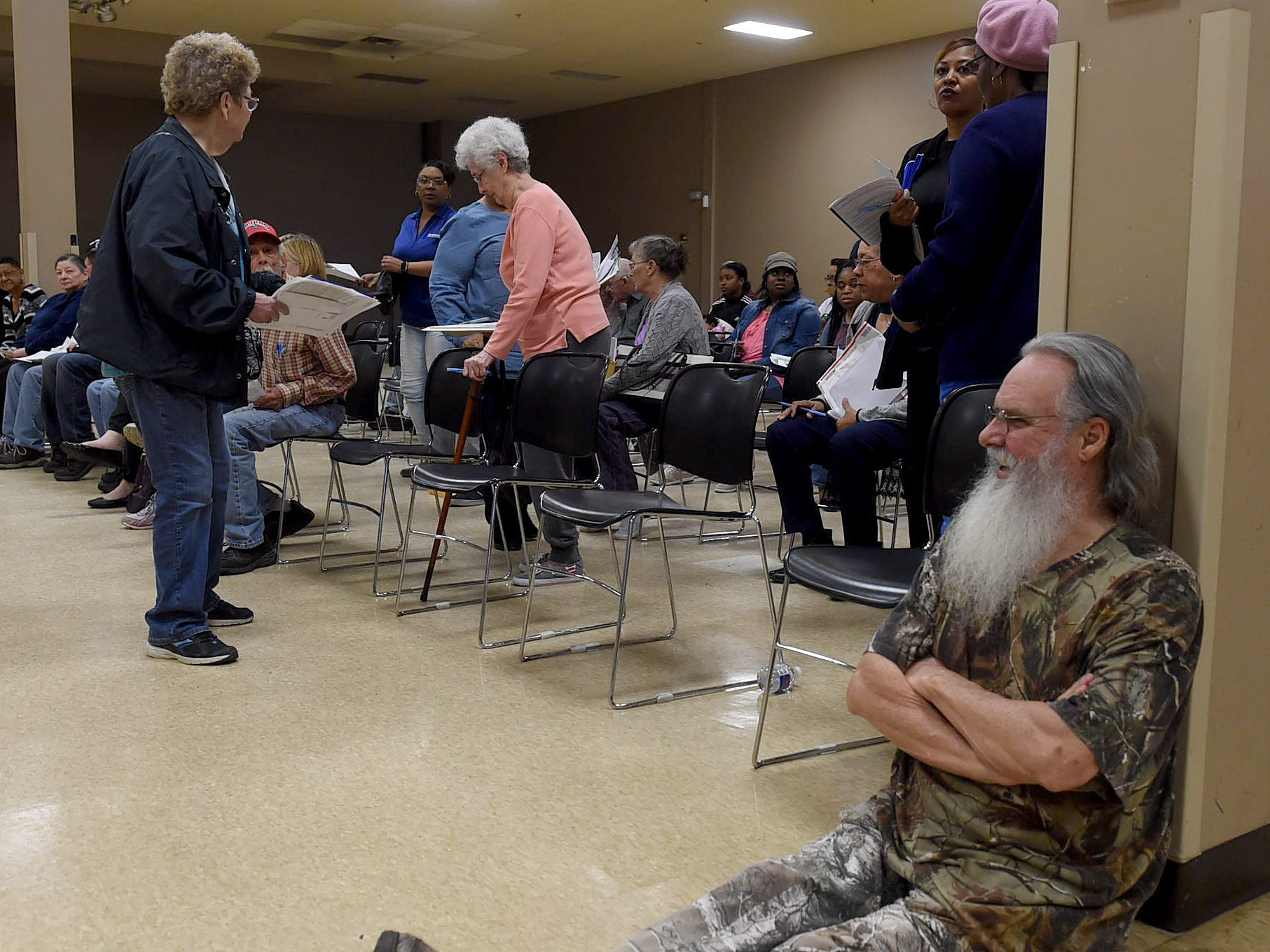 For the 14th year Ledricka Thierry and volunteers have offered free tax service to residents of St. Landry Parish. A large turnout was on hand Saturday for the service that was held at the Opelousas Civic Center.