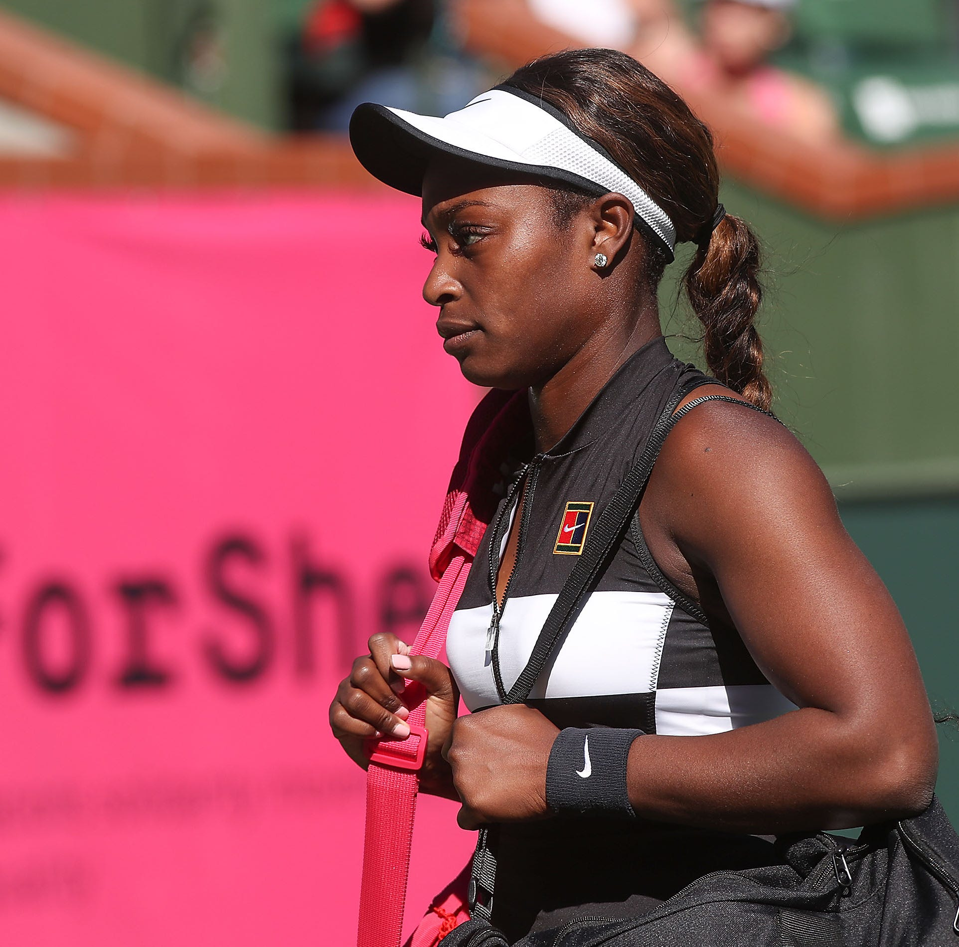 Fourth-ranked Sloane Stephens gets dominated in first match at BNP Paribas Open