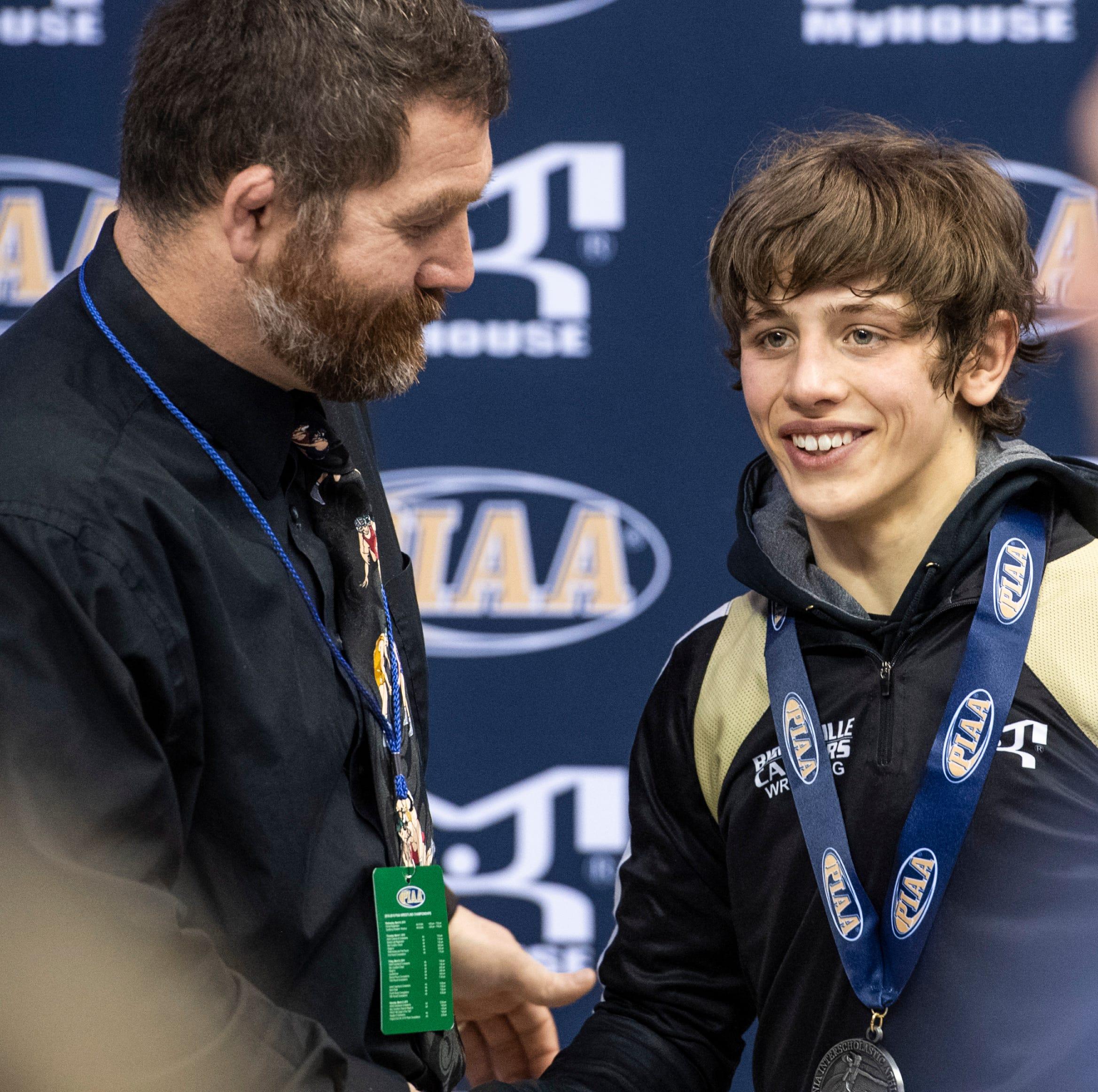 PIAA wrestling results: Biglerville freshman takes home silver