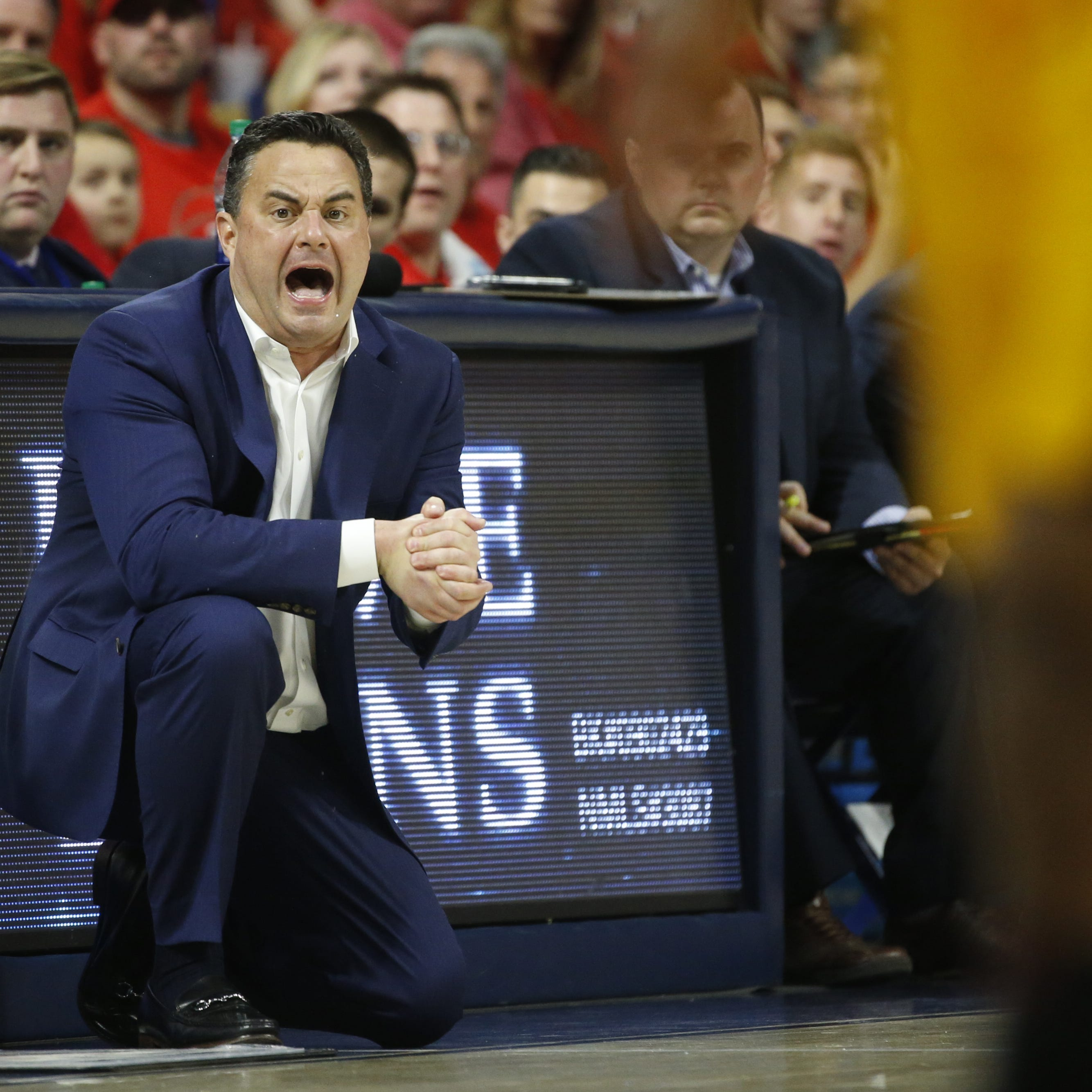 Sean Miller thanks fans at McKale Center 'for everything' after Arizona Wildcats' loss to ASU