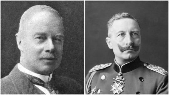 If you want to blame anyone for daylight saving time, blame these two: George Vernon Hudson, left, and German Emperor Kaiser Wilhelm II.
