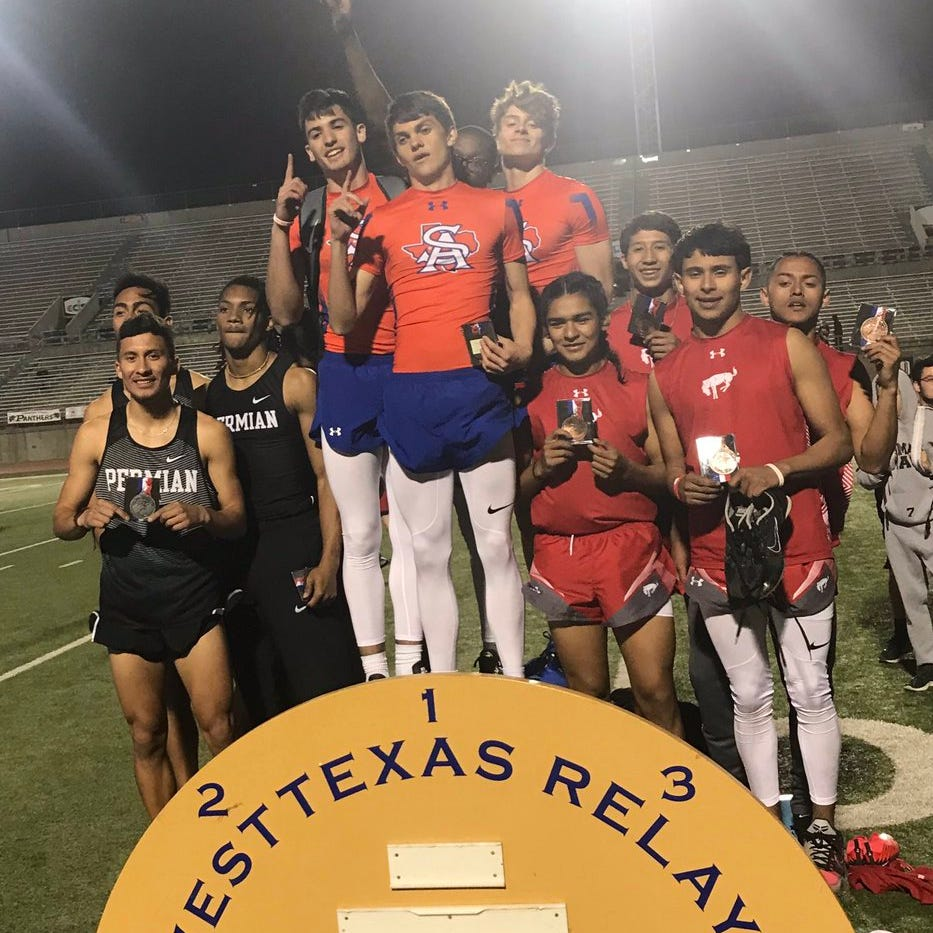 TRACK ROUNDUP: Central boys win mile relay at West Texas Relays