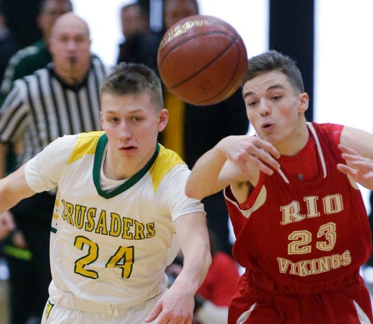 Sheboygan Lutheran freshman point guard Casey Verhagen is playing beyond his years and has the Crusaders at their first state tournament since 2014.
