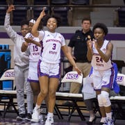 The Northwestern women were victorious Saturday.