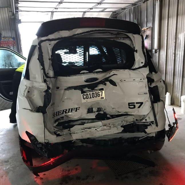 Deputy injured after being rear-ended on I-90