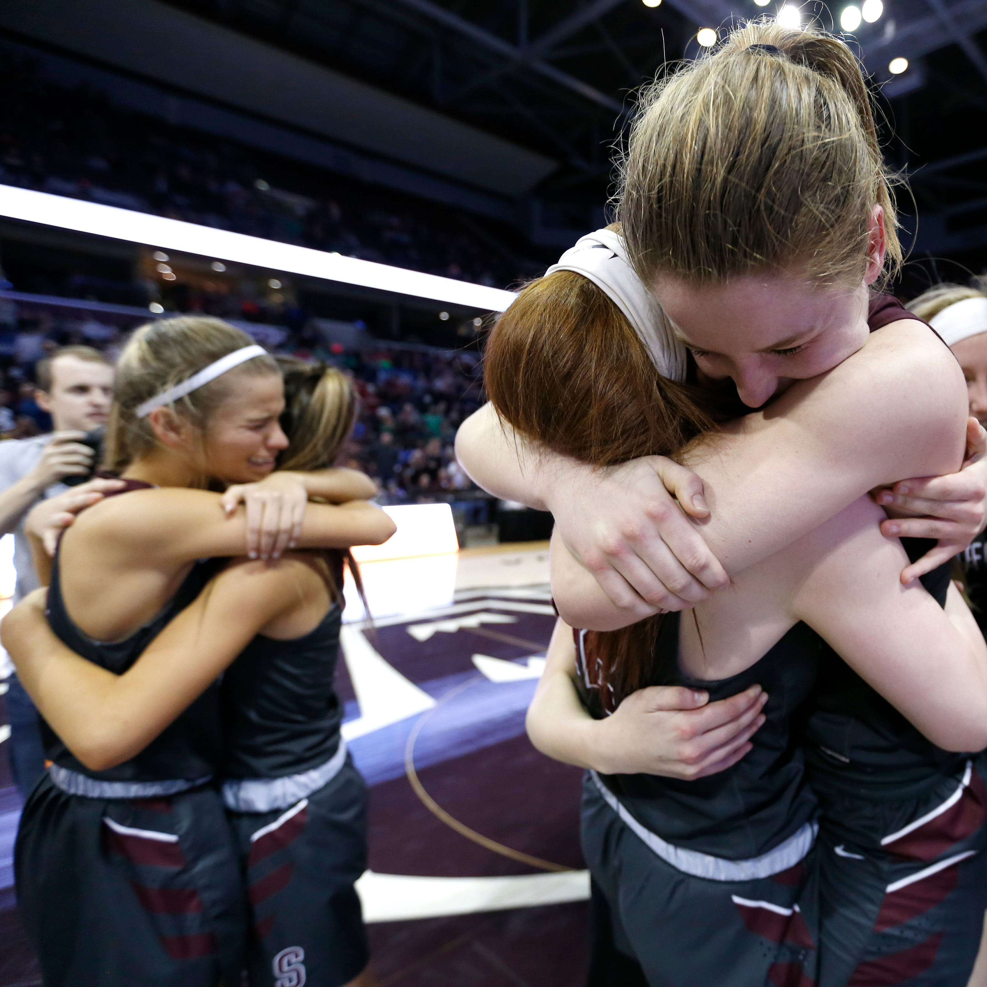 Strafford's Hayley Frank ends career as perhaps the best girls basketball player in state history