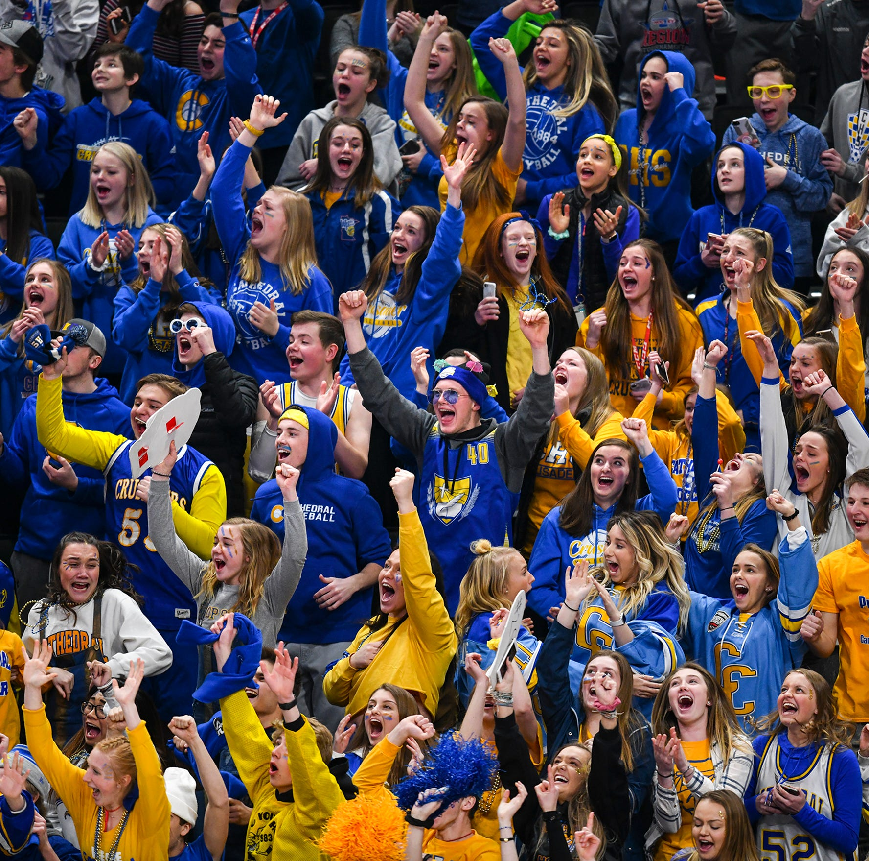 Cathedral fans revel in hockey team's 1st state title, wrapping up its 'unfinished business'