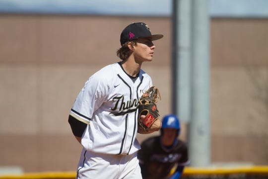 Drew Thorpe leads a Desert Hills pitching staff that's arguably the best in Region 9.