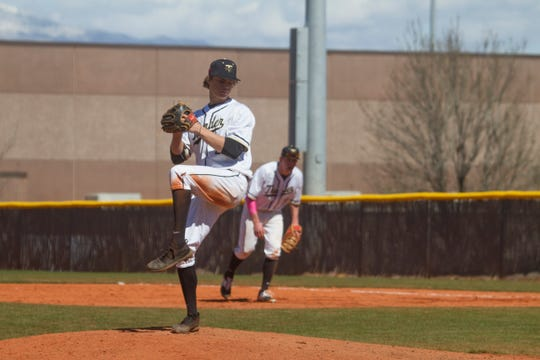 Drew Thorpe (pitching) is one of the reasons why Desert Hills sits atop Region 9 standings alongside Dixie.