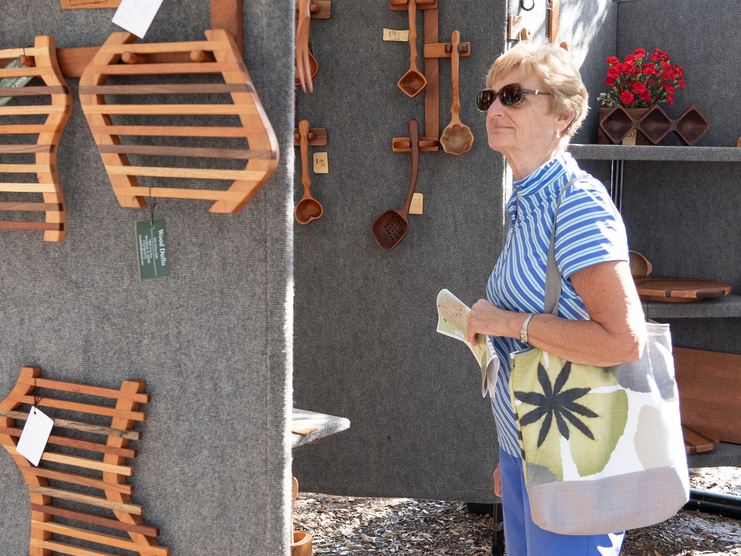 The 68th annual Under the Oaks Fine Arts & Crafts Show was held March 8-10, 2019, in Riverside Park in Vero Beach. The event is the largest fundraiser of the Vero Beach Art Club. More than 220 artists from around the nation and beyond exhibited at the juried show. Sunday hours are from 10 a.m. to 4 p.m.