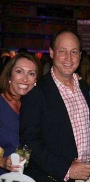 Ted and Missy Mortell, pictured at a 2016 Pine School fundraiser