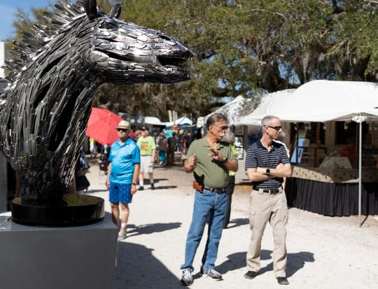 The 68th annual Under the Oaks Fine Arts & Crafts Show was held March 8-10, 2019, in Riverside Park in Vero Beach.
