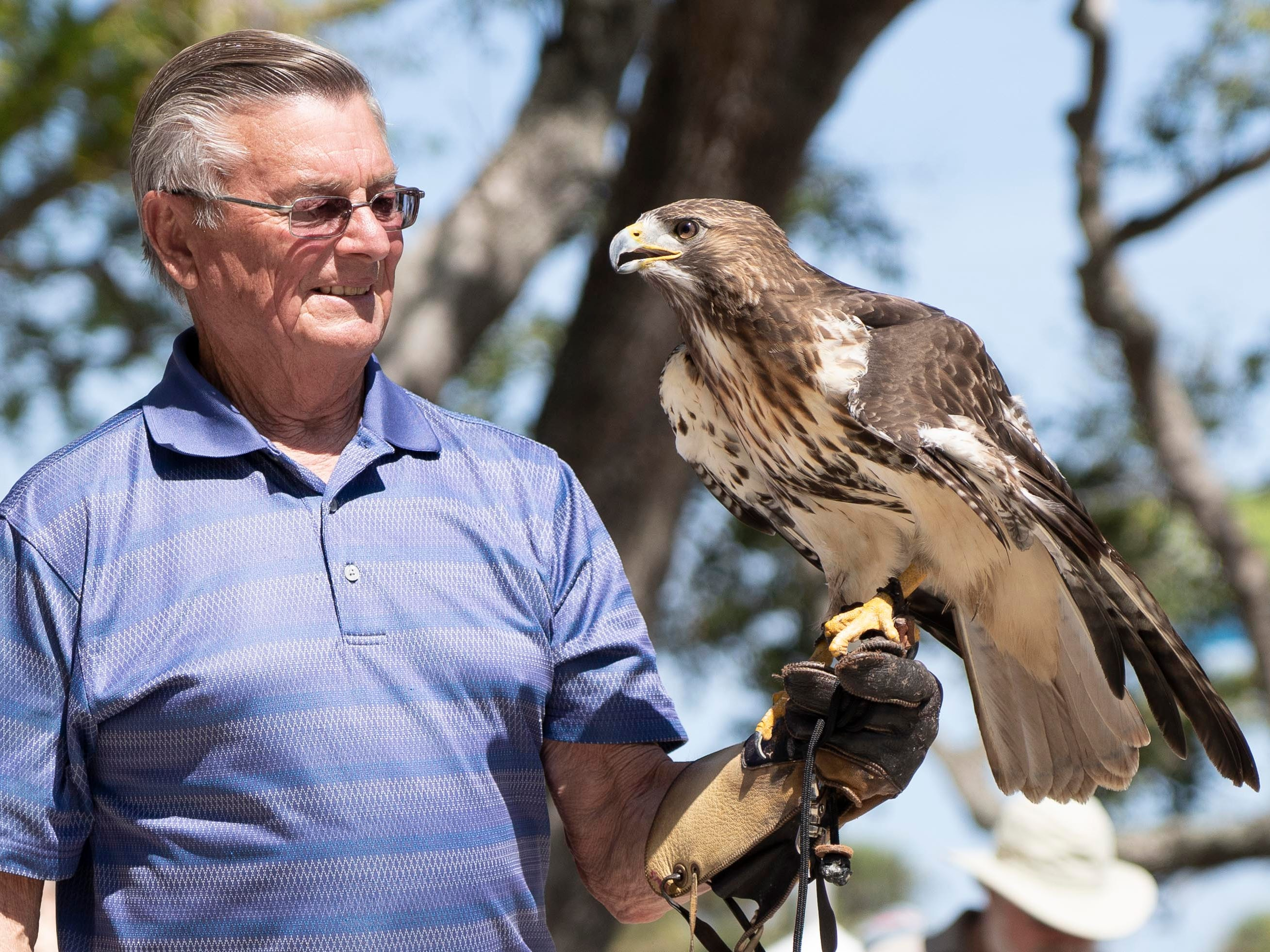 The 27th annual Pelican Island Wildlife Festival was held on Saturday, March 9, 2019, at Riverview Park in Sebastian. The festival celebrates the anniversary of the establishment of Pelican Island as the nationÕs first national wildlife refuge on March 14, 1903, by President Theodore Roosevelt. The event had wildlife demonstrations, arts and crafts, food, music, face painting and a variety of vendors.