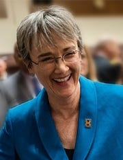 Heather Wilson, U.S. Air Force secretary, has been picked to be the next president of the University of Texas at El Paso.