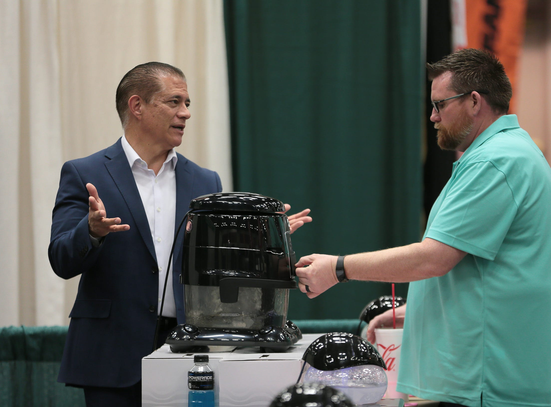The 19th Annual El Paso Home and Garden Show is in full swing at the El Paso Convention Center in downtown El Paso. Find anything for your home from art to air conditioning. The show continues Sunday from 11am-5pm.