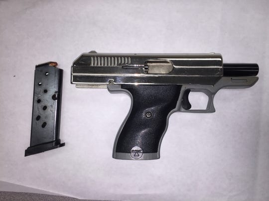 A gun seized by Oxnard police.