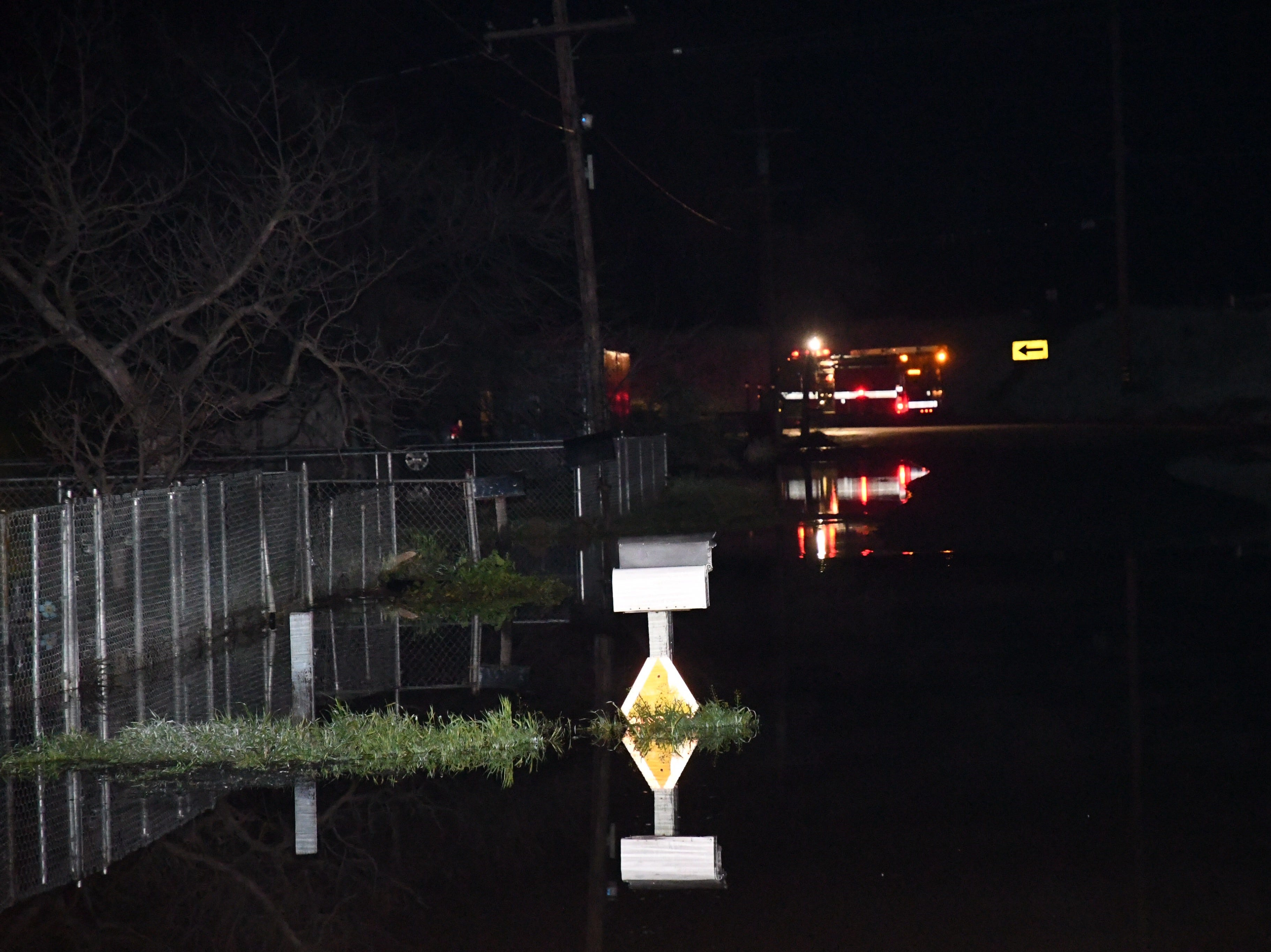 Several roads are closed and at least 21 homes are flooded after the Friant-Kern Canal spilled over on Friday night.