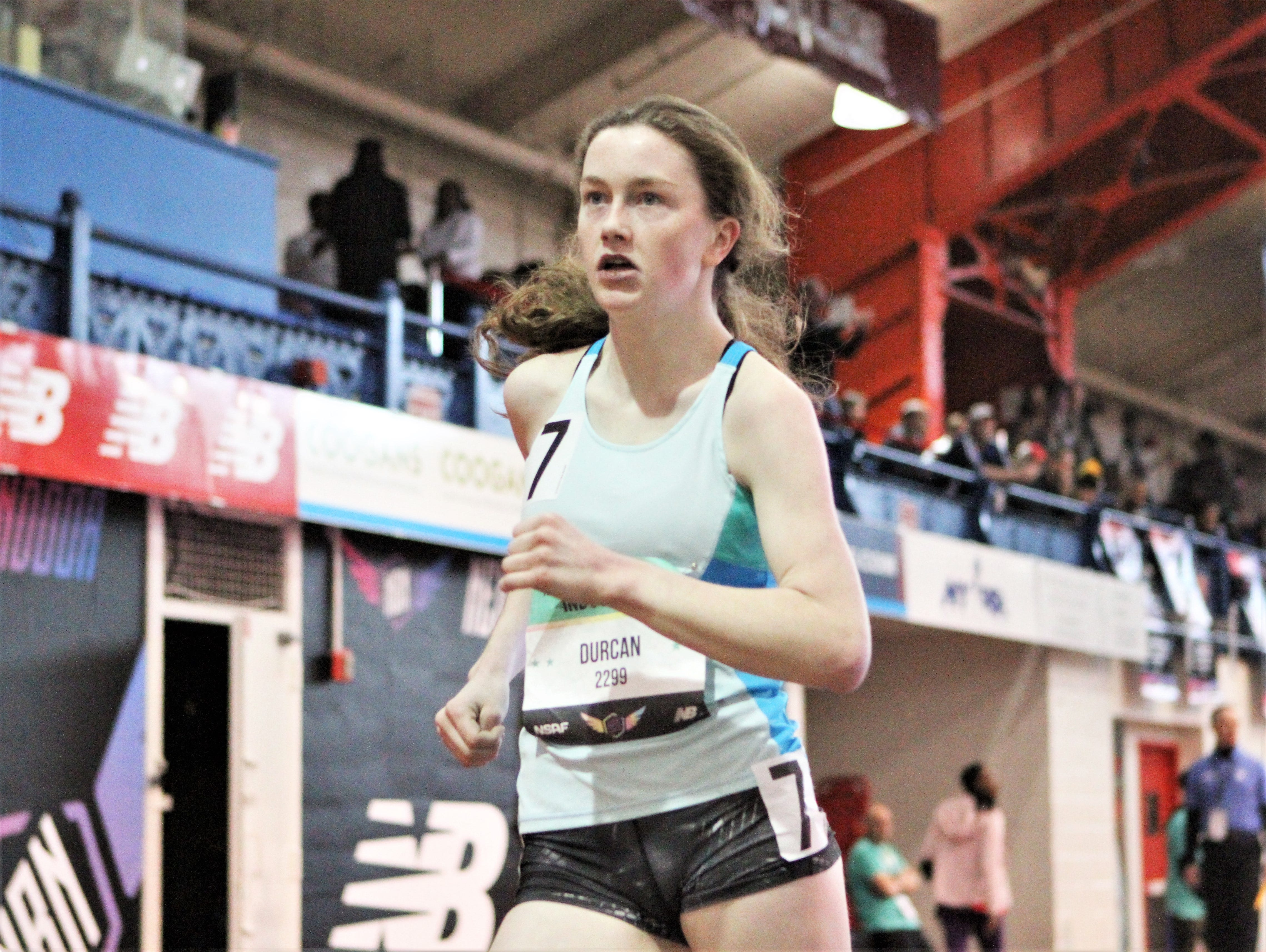 Video: Pearl River's Ciara Durcan after taking silver in winter Nationals racewalk
