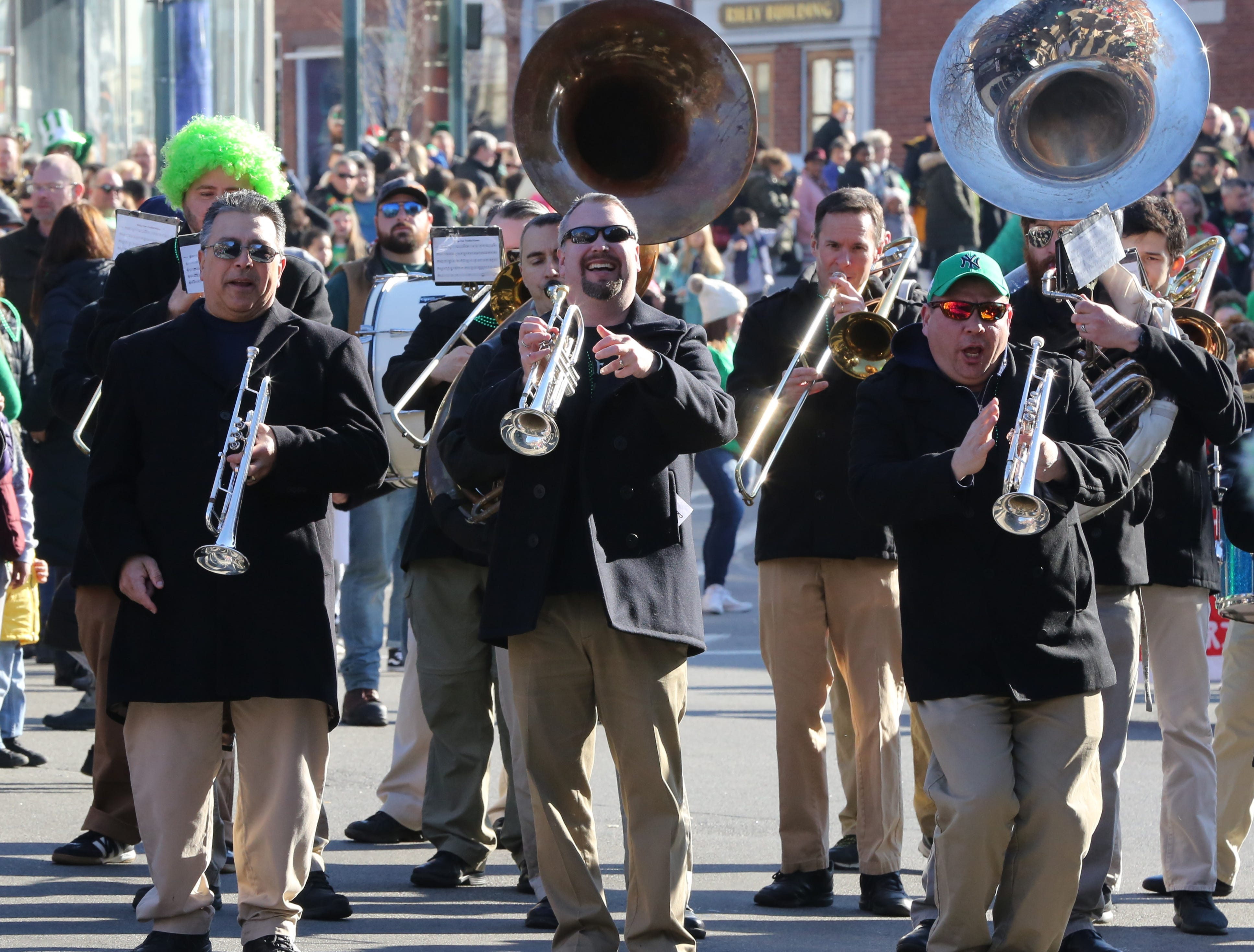 The 30th Annual Peekskill St. PatrickÕs Day Parade in Peekskill March 9, 2019.