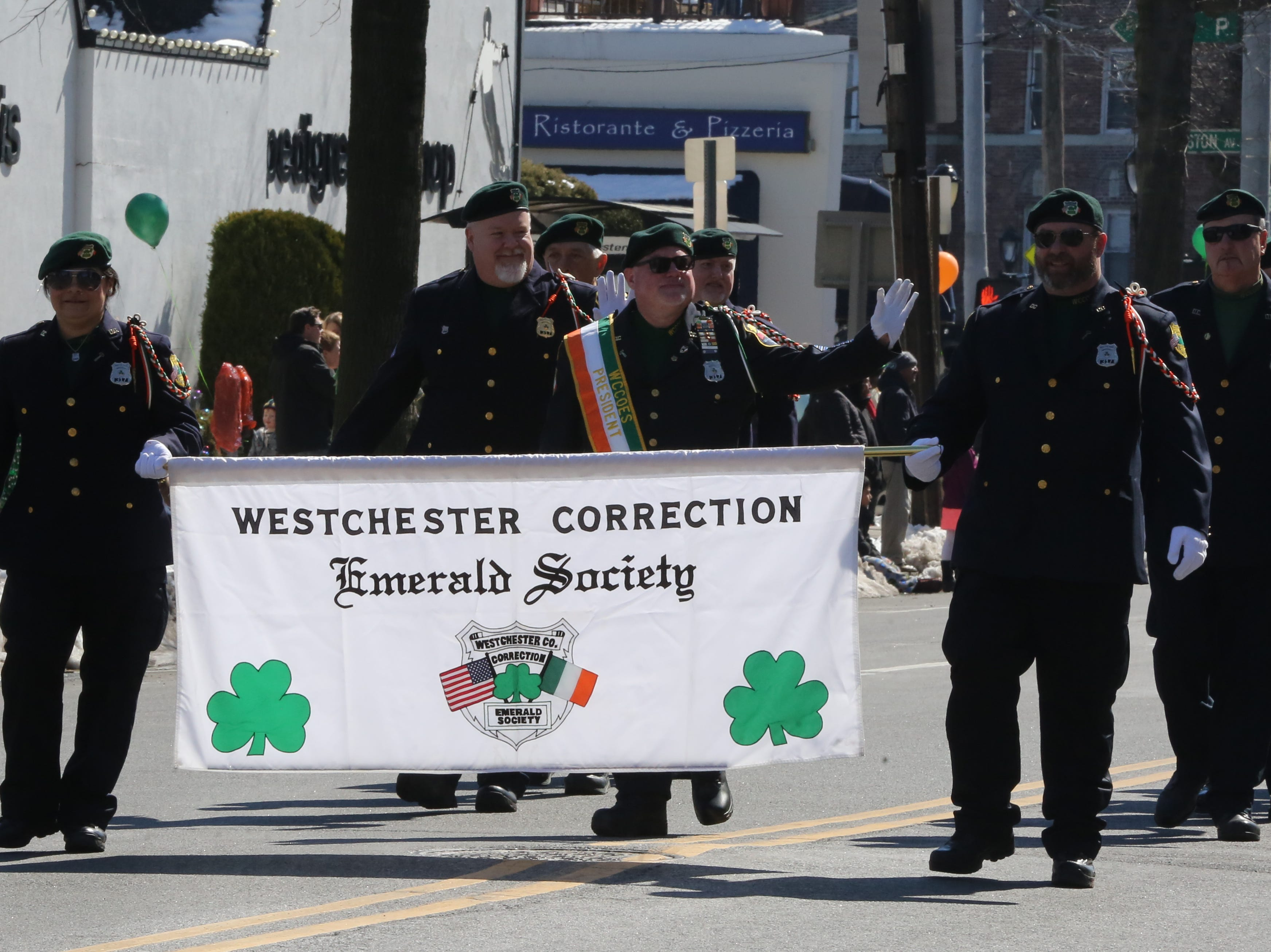 The 22nd annual White Plains St. Patrick's Day parade along Mamaroneck Avenue in White Plains March 9, 2019.