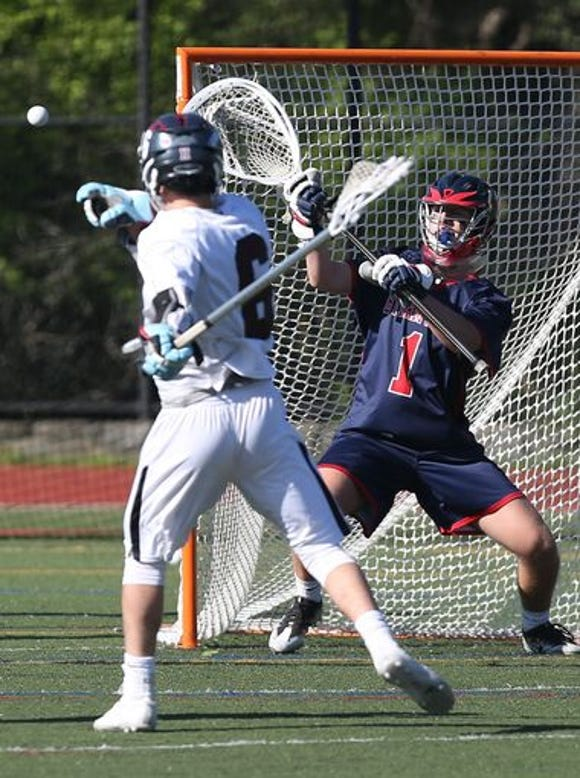 Byram Hills goalie Griffen Rakower has ranked among the best goalies in Section 1 for the last two seasons.