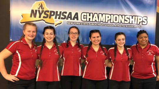 North Rockland won its first-ever state title at the New York State Public High School Athletic Association championships in Syracuse. Mar. 8, 2019.