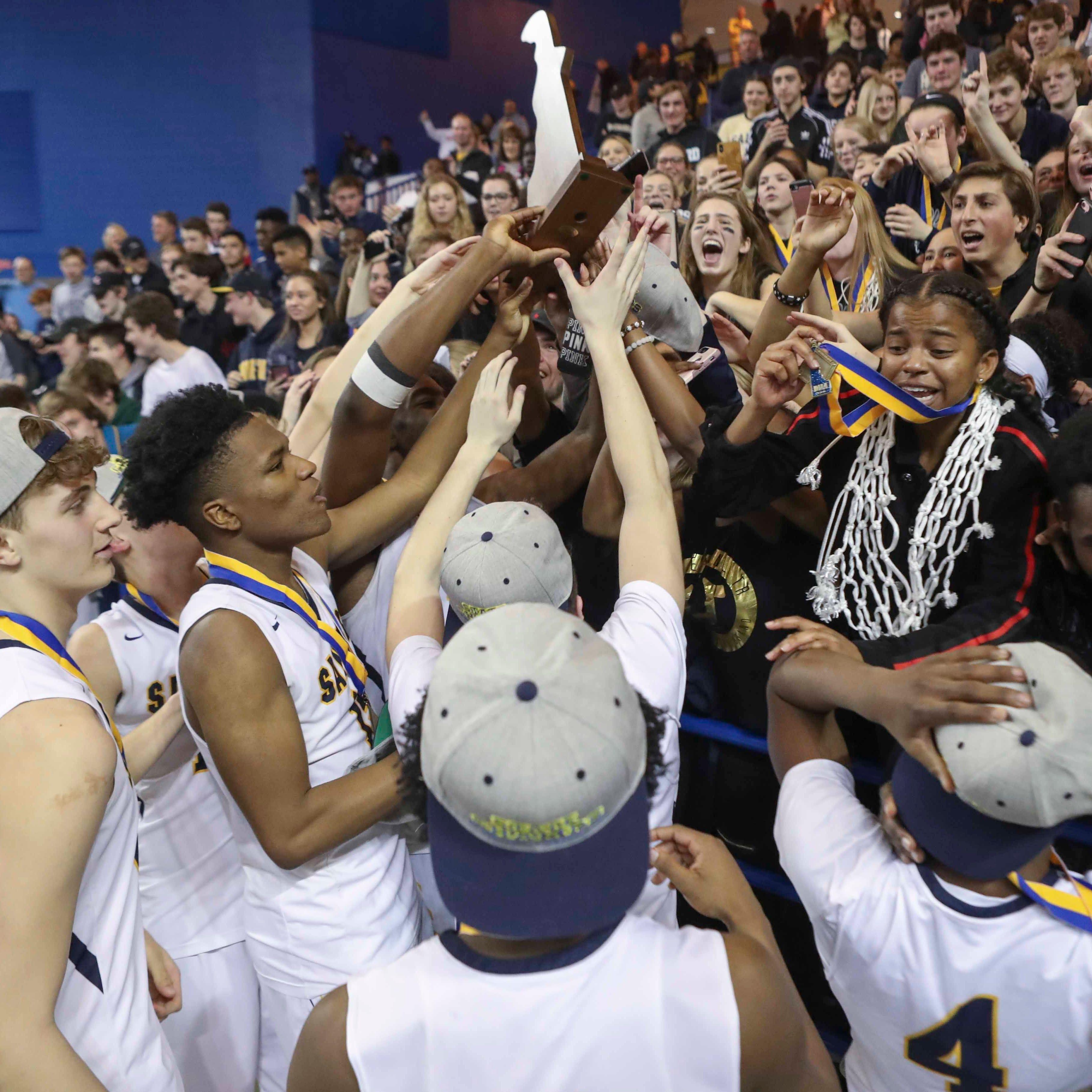 Sanford boys rally past Dover for thrilling DIAA boys basketball championship