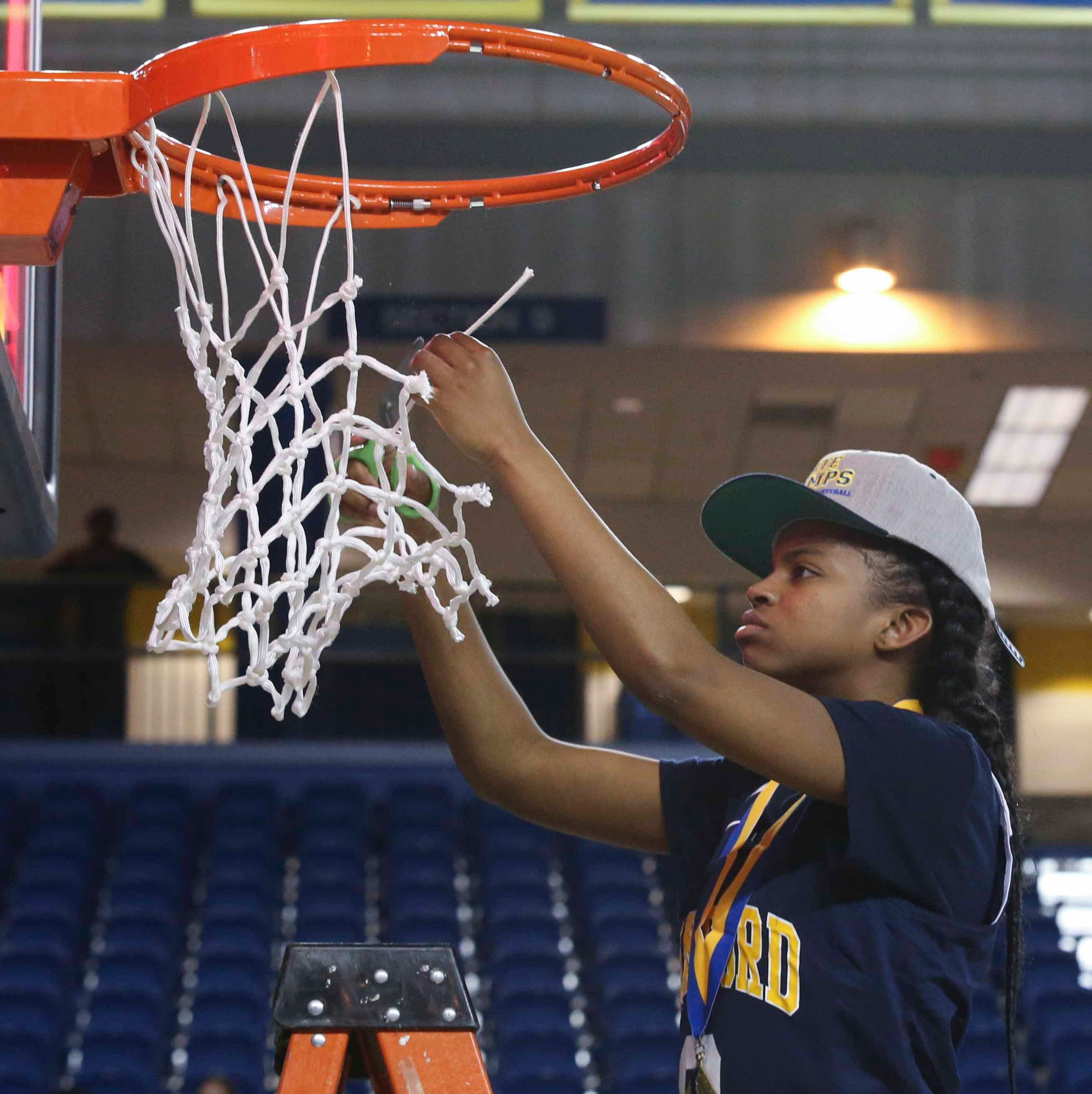 Delaware Girls Basketball Player of the Year still floating after winning shot