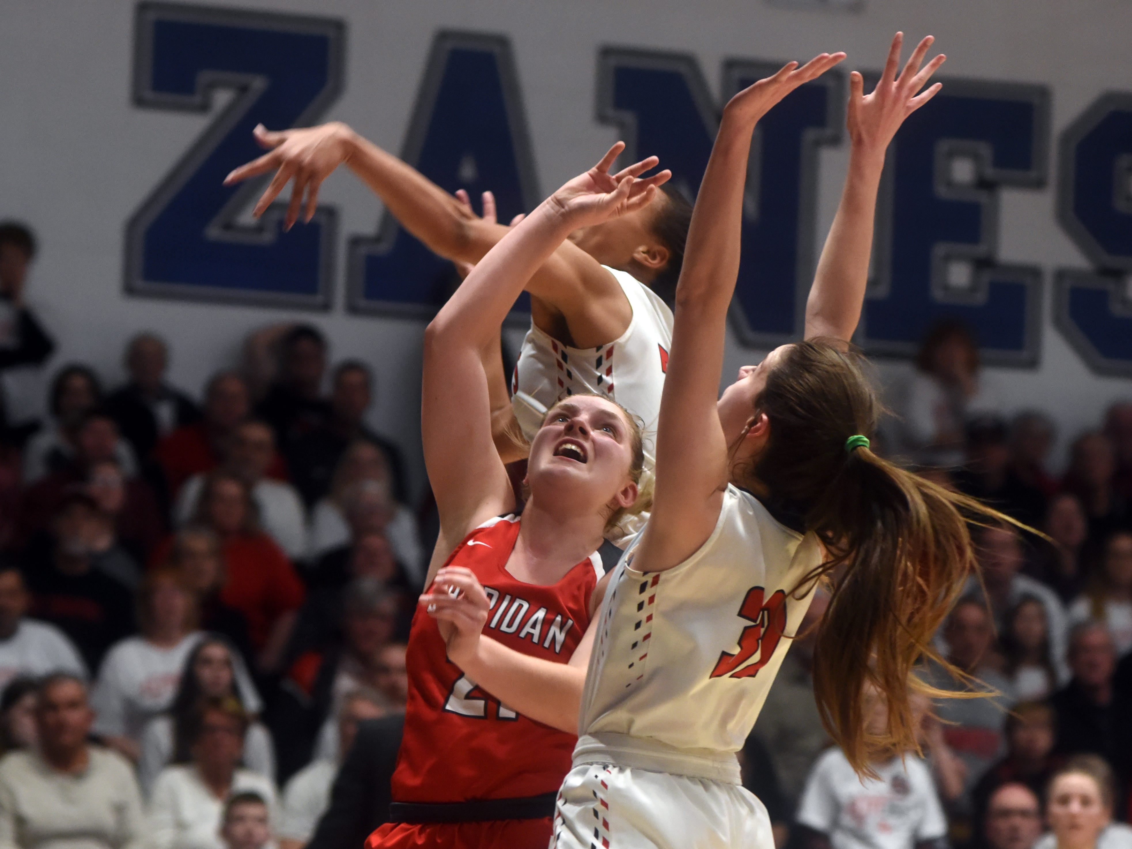 Sheridan reached its first state tournament since 2004 with a 48-46 win against New Philadelphia on Friday night at Winland Memorial Gymnasium.