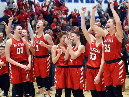 Sheridan reached its first state tournament since 2004 with a 48-46 overtime win against New Philadelphia on Friday night at Winland Memorial Gymnasium.