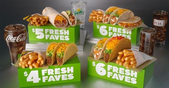 Del Taco has new Fresh Faves box meals.