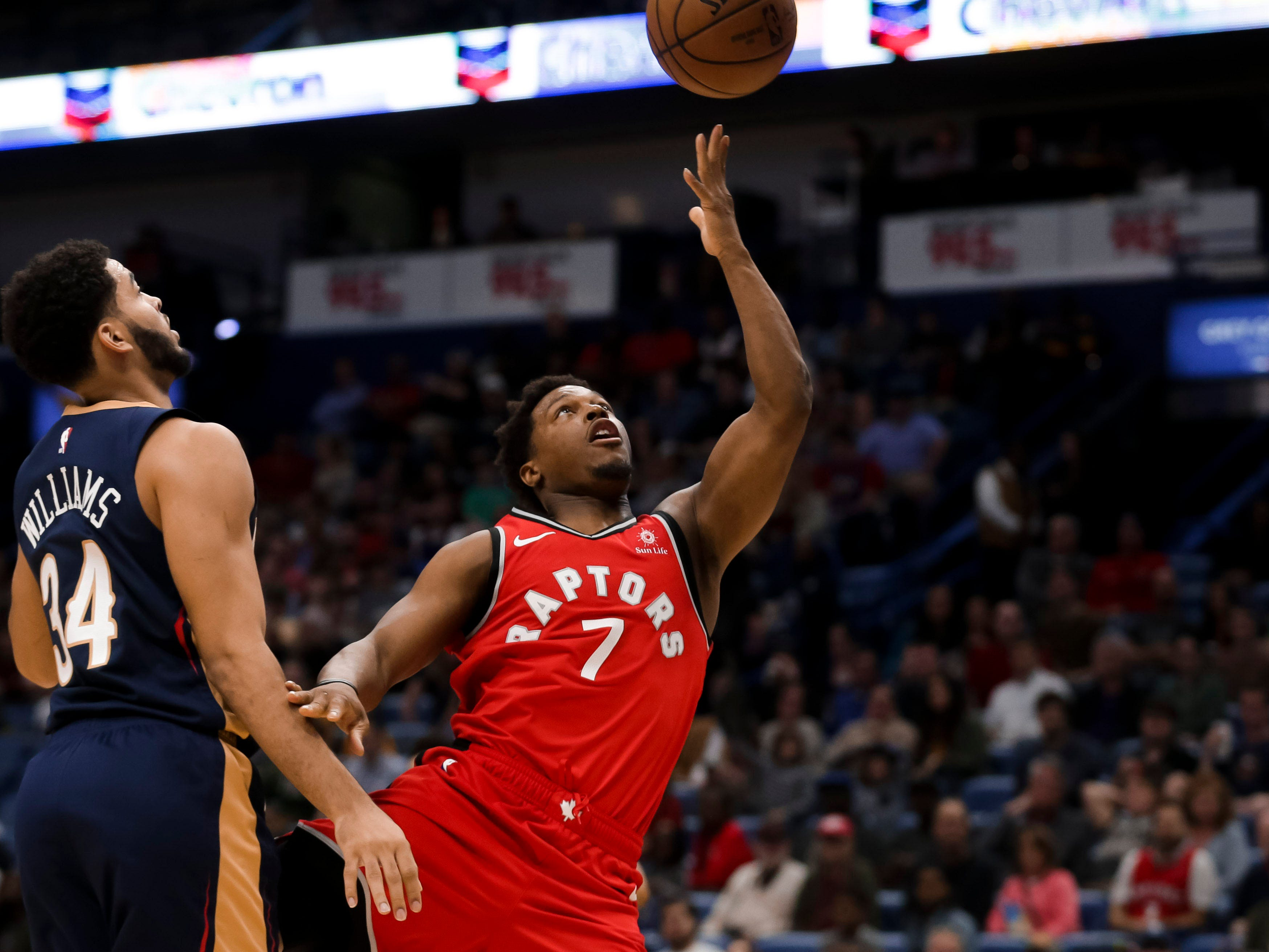 94. Kyle Lowry, Raptors (March 8): 13 points, 12 assist, 11 rebounds in 127-104 win over Pelicans (second of season).