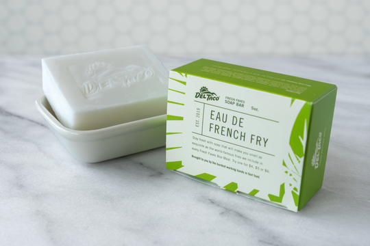 Del Taco has a special French fry-scented soap.