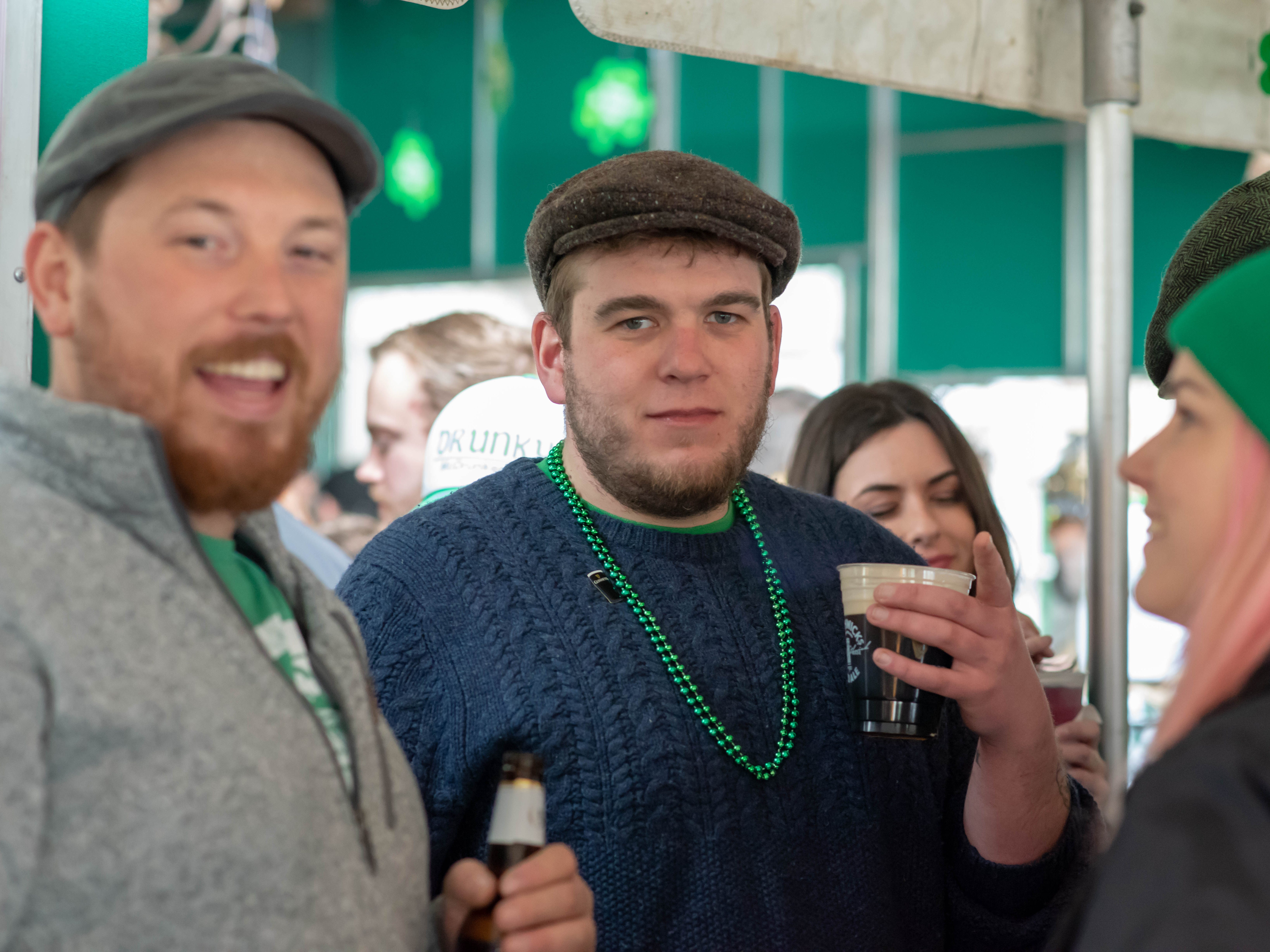 St. Patrick's Day party at Johnny Mac House of Spirits on Main Street in Asbury Park on March 10, 2019.