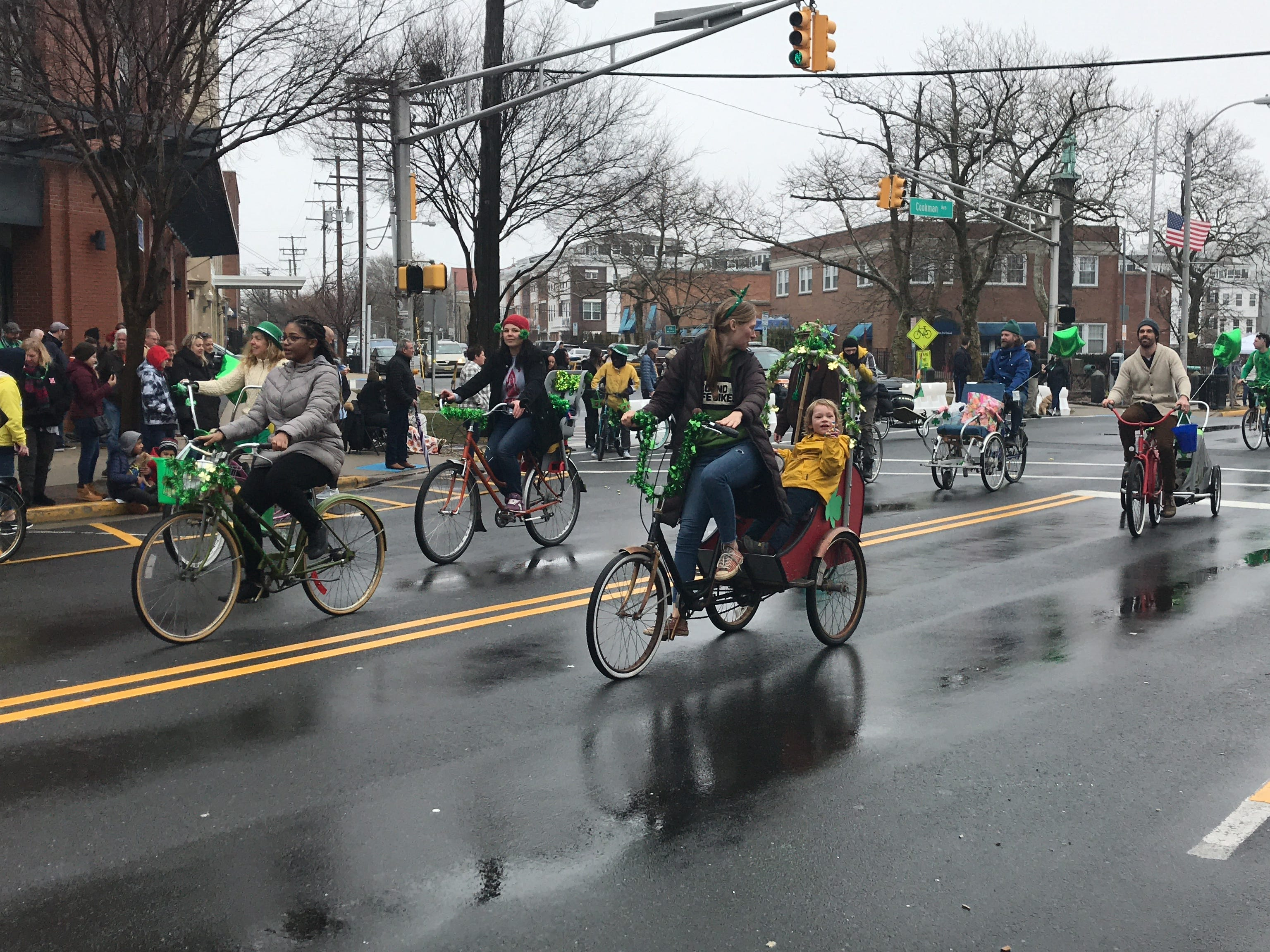 Scenes from the St. Patrick's Day Parade in Asbury Park on March 10, 2019.