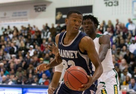 Ranney Boys Basketball vs Roselle Catholic in Non-Public B Final in Toms River, NJ on March 9, 2019.