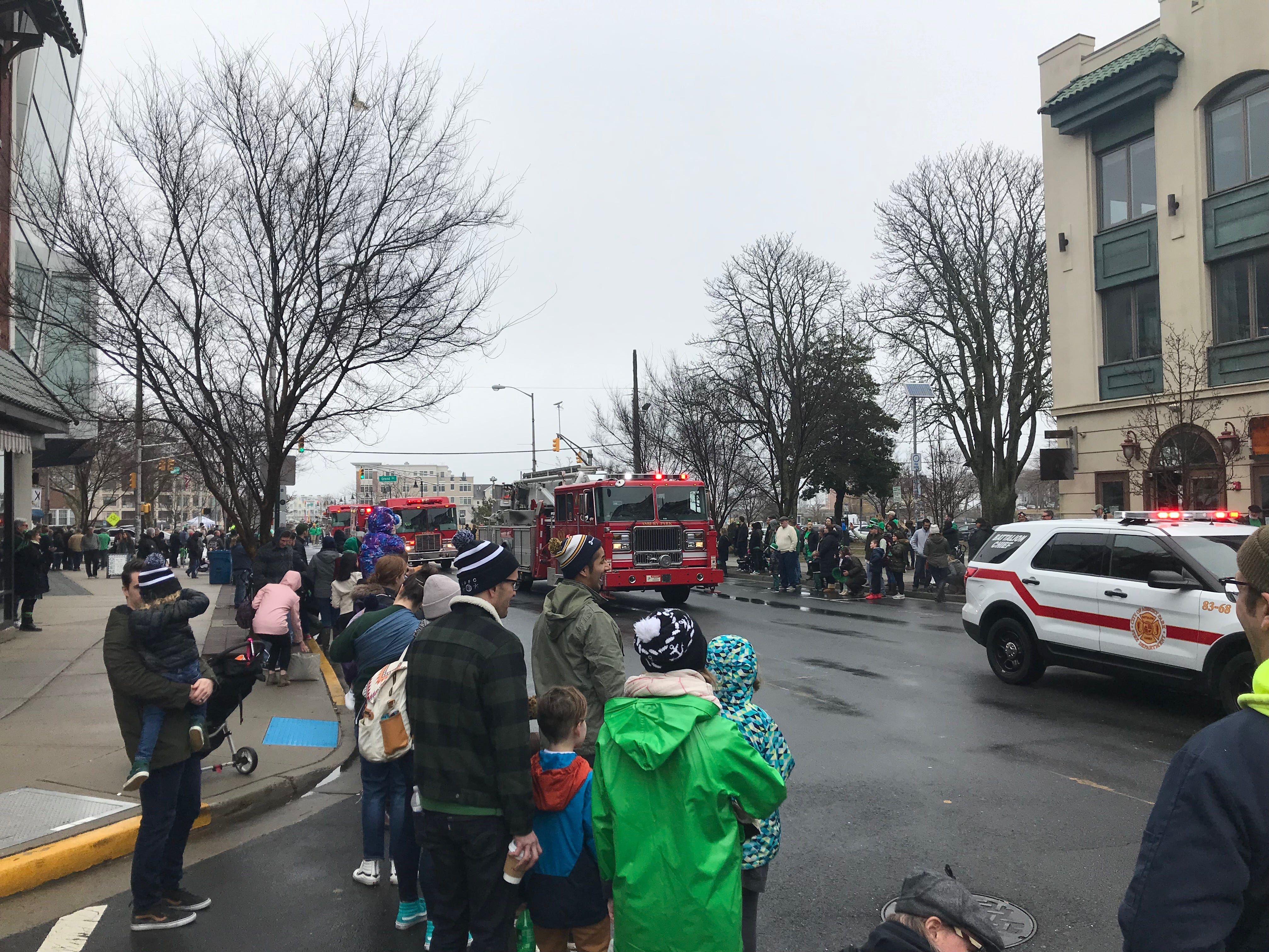 Scenes from the Asbury Park St. Patrick's Day Parade on March 10, 2019.