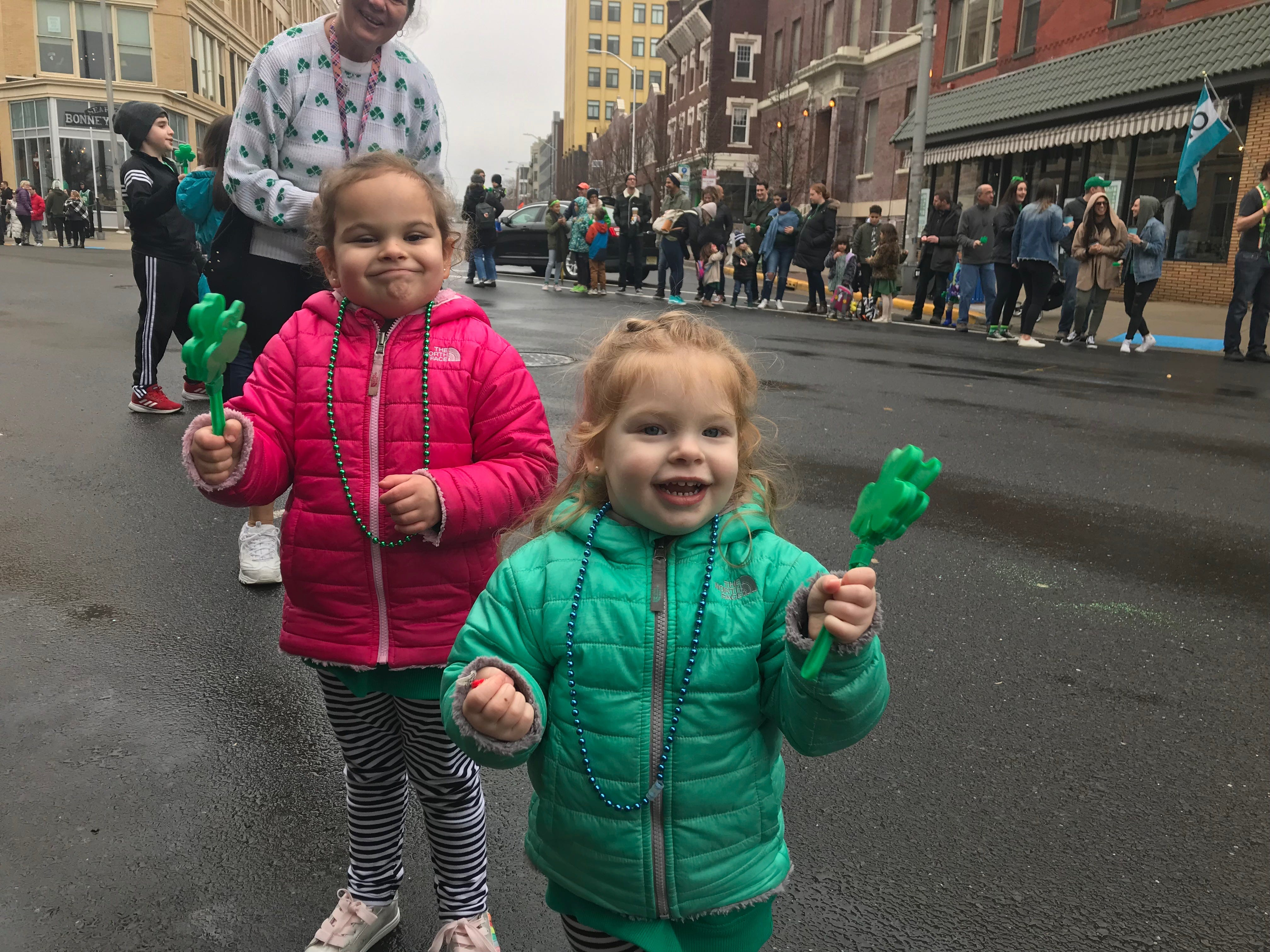 Spectators lined the streets of Cookman Avenue to see the Asbury Park St. Patrick's Day Parade on March 10, 2019.