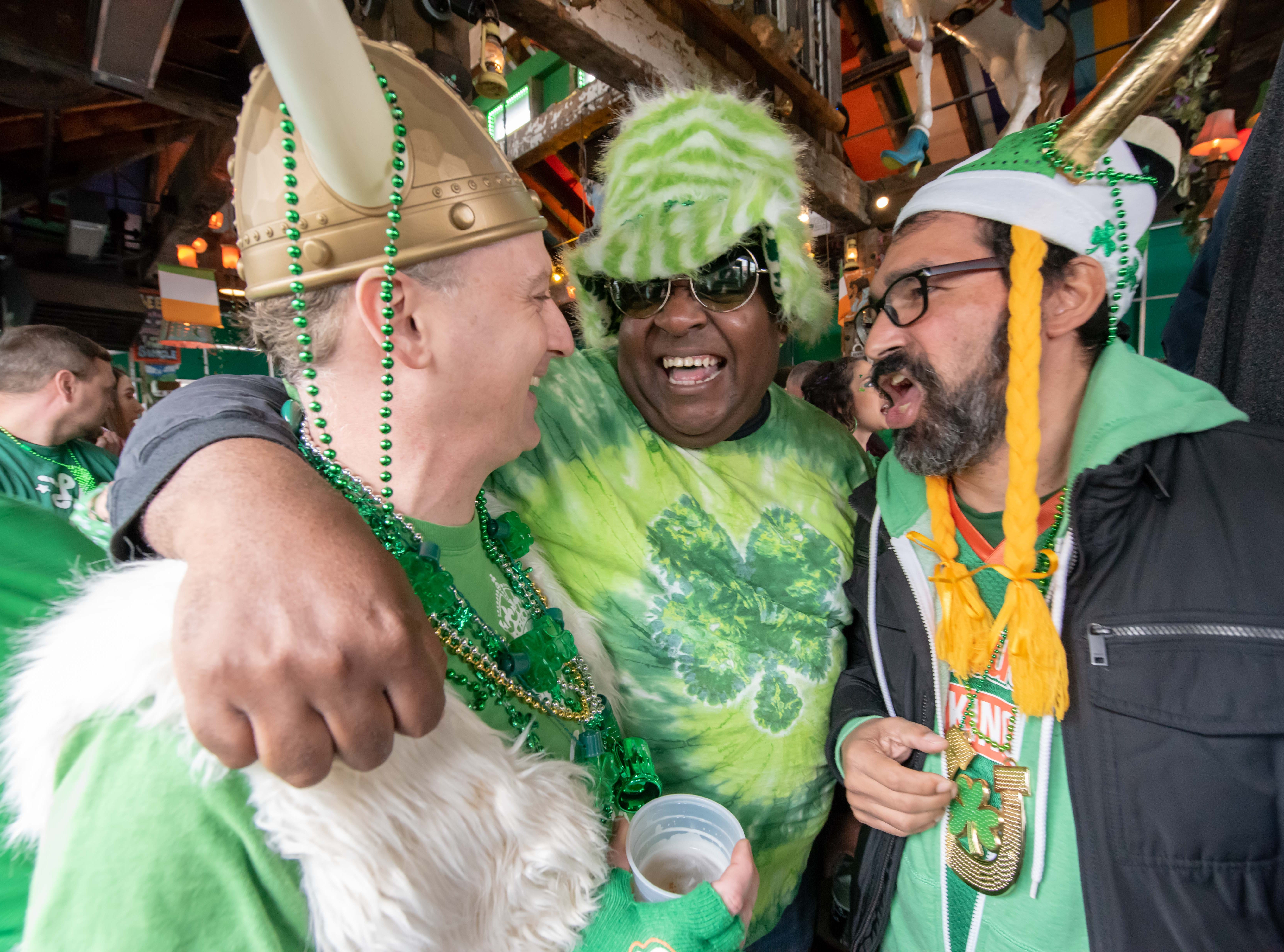 St Patrick's Day party at Johnny Mac House of Spirits on Main Street in  Asbury Park on March 10.