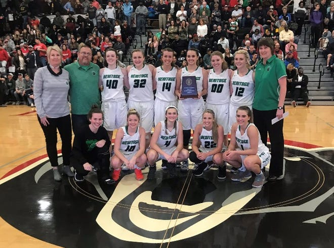 Mountain Heritage is headed to the state championship basketball game for the first time since 1981 after a 70-45 win over Forbush during Saturday's 2A West regional final