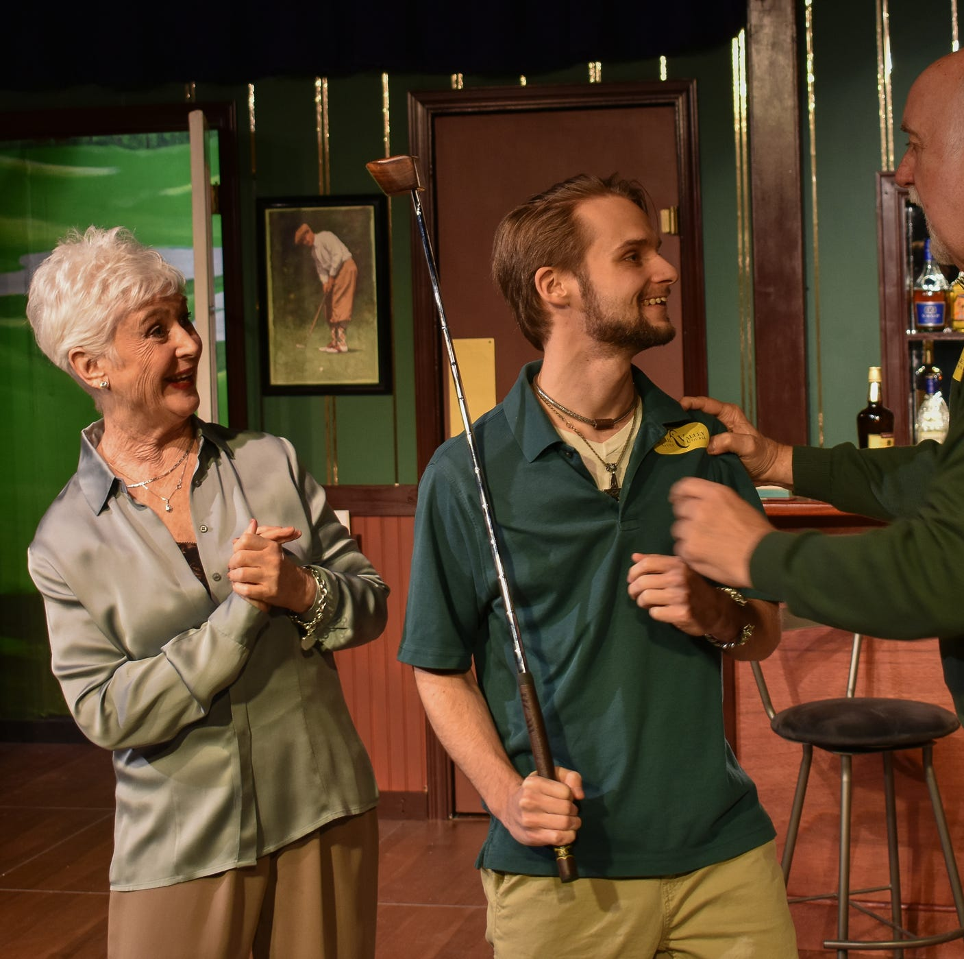 Fore! 'Fairway' farce at the Jewel Box