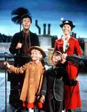 """The KSO performs """"Disney in Concert: Mary Poppins"""" at 8 p.m. April 6 at the Knoxville Civic Auditorium. Concertgoers watch the 1964 film on the big screen as the symphony performs the movie music."""