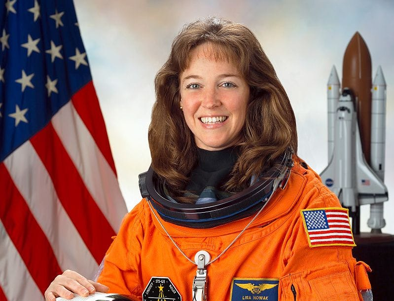 Lisa Nowak served as a mission specialist aboard Space Shuttle Discovery in 2006.
