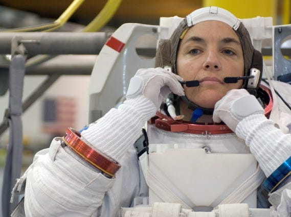 Heidemarie Stefanyshyn-Piper flew on two missions between 2006 and 2008 and was the eighth woman to walk in space.
